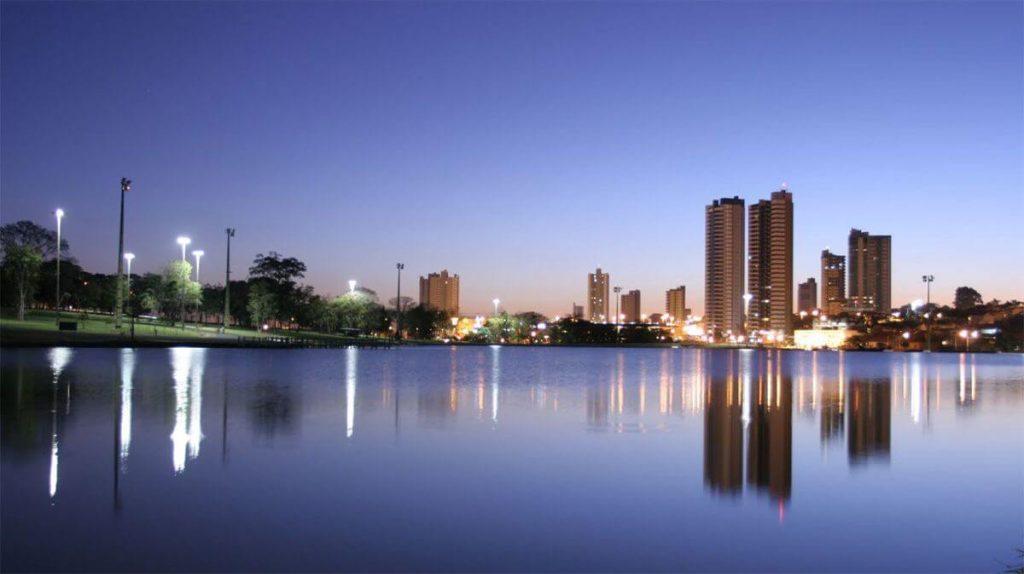 Vista lagoa da prata Campo Grande -MS