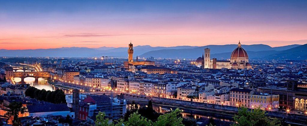Guia de Viagem Florença Itália vista de cima
