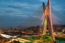 vista ponte estaiada São Paulo