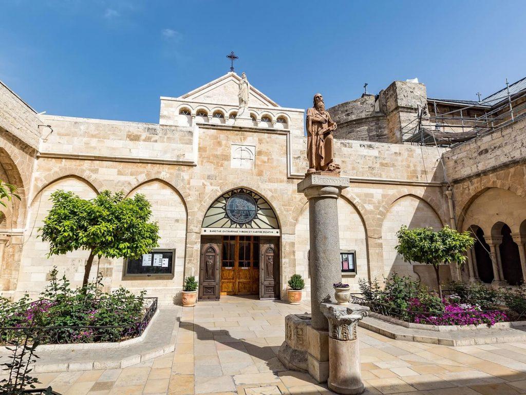 basílica da Natividade em Belém, Israel.