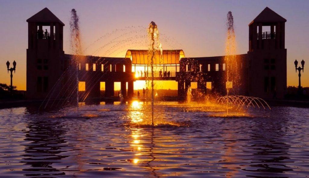 Parque Tanguá ao por do sol