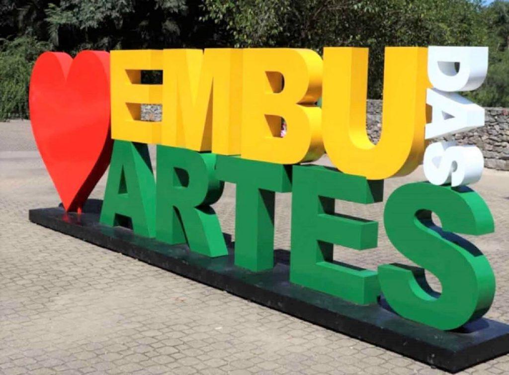 Letreiro de Embu das Artes
