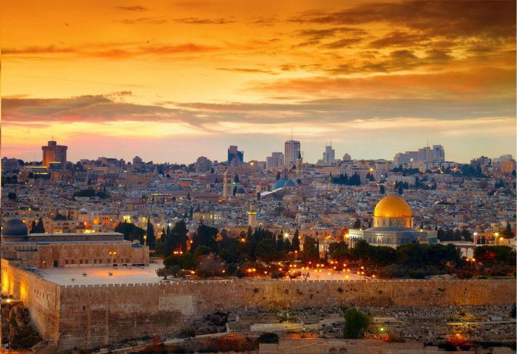 Vista de Jerusalem, Israel