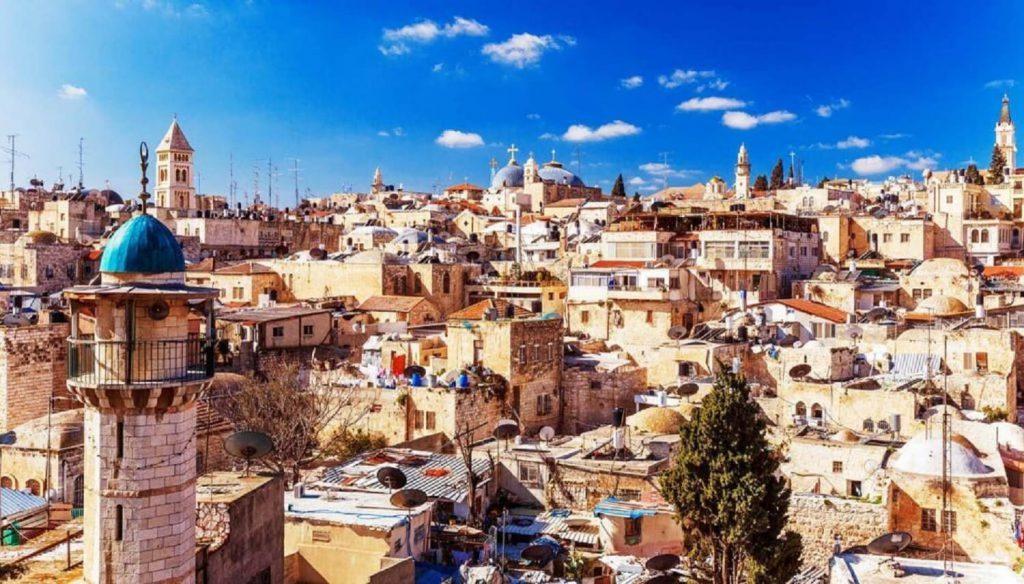 Vista Aérea de Jerusalem