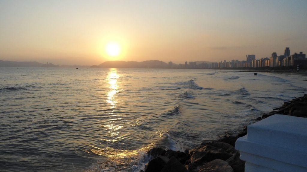 Vista Ponta da Praia - Santos-SP