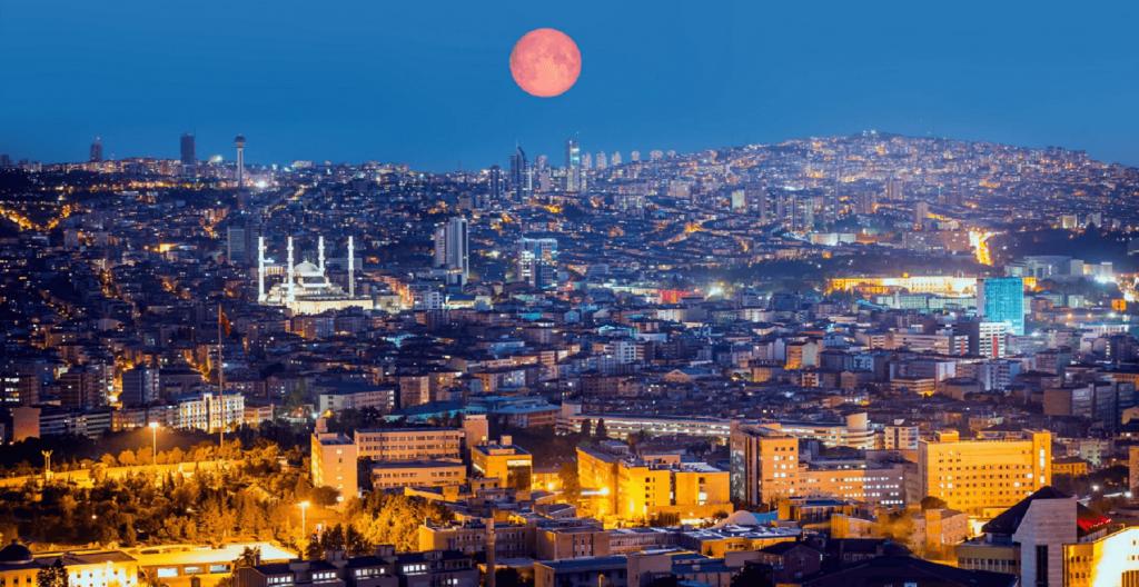 Ancara, capital da Turquia
