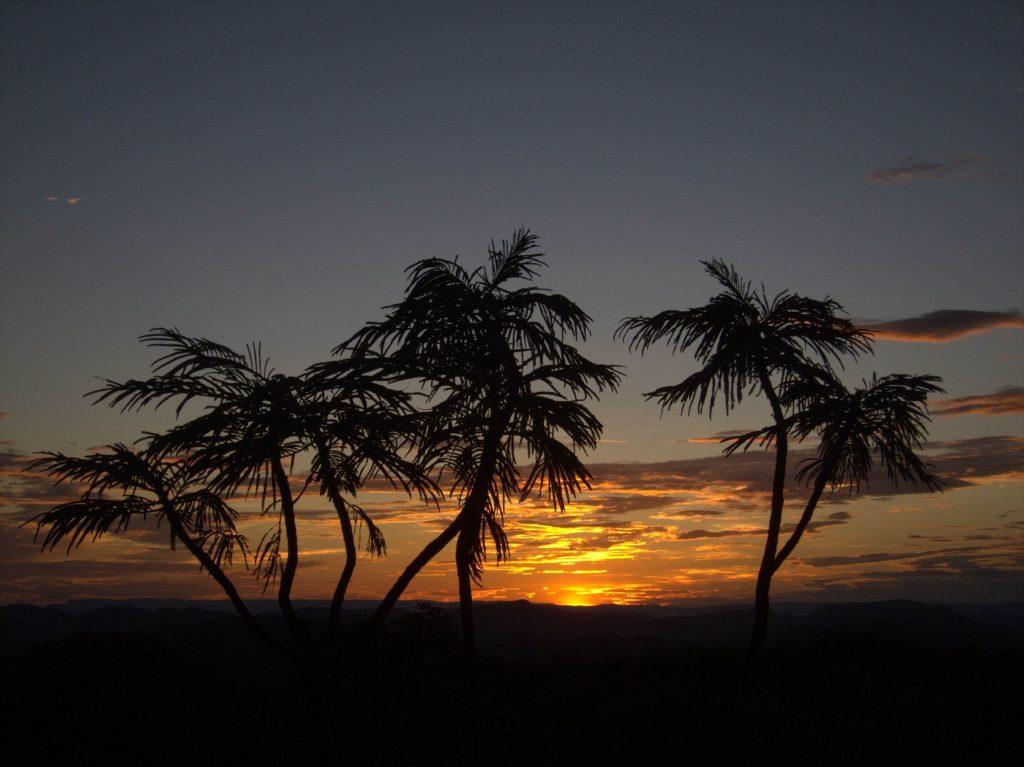 Alto paraíso de Goiás - entardecer
