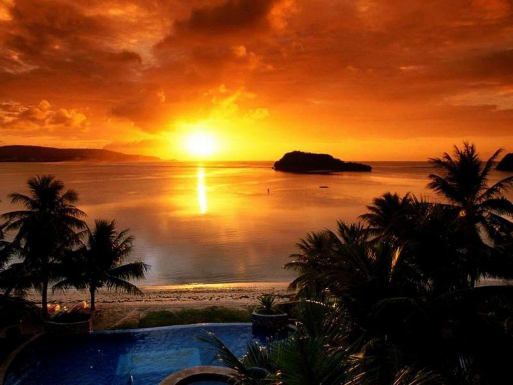 por do sol em ilhabela