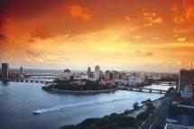 Recife vista do Mar