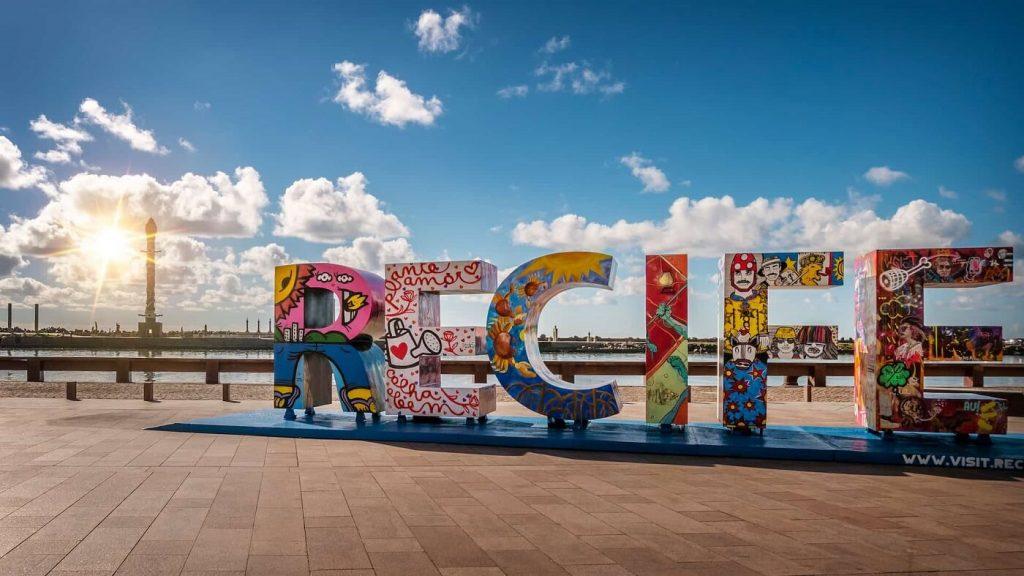 Letreiro de Recife