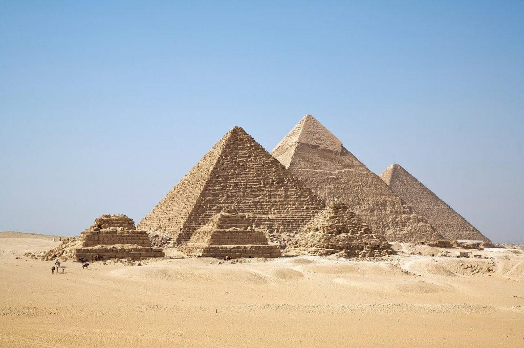 Pirâmides de Gizé Cairo Egito