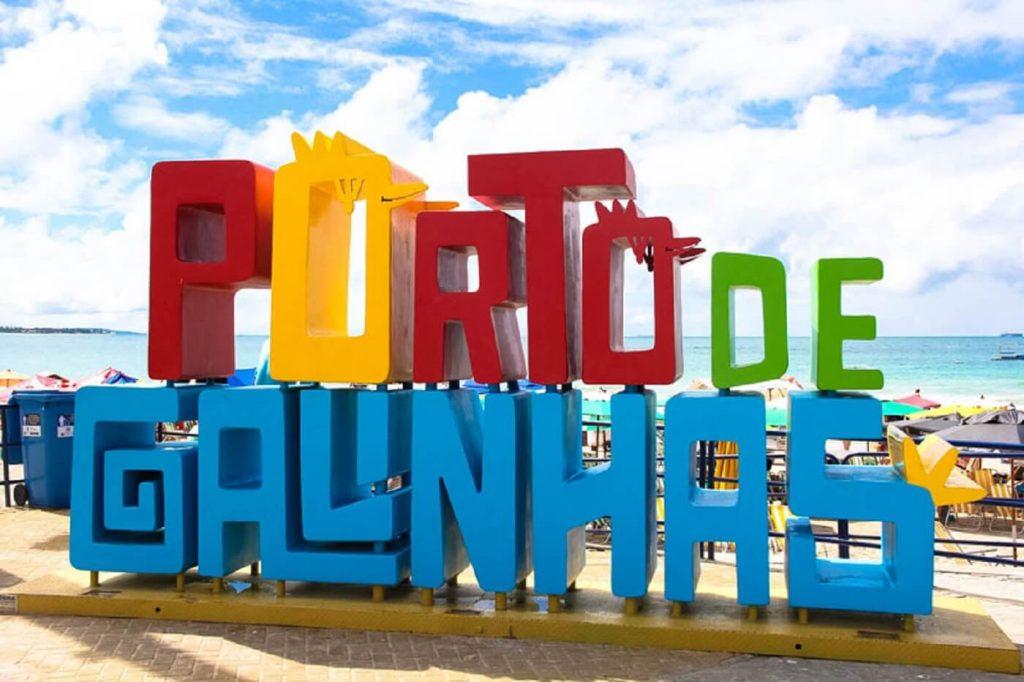 Letreriro de Porto de Galinhas