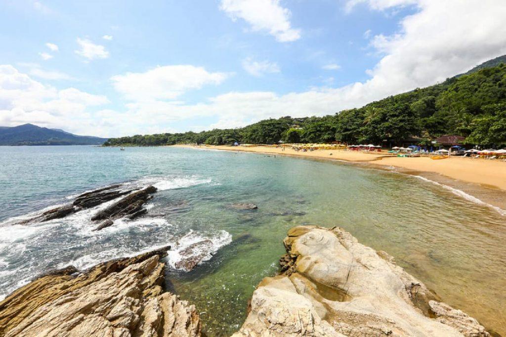 praia do curral - ilhabela sp