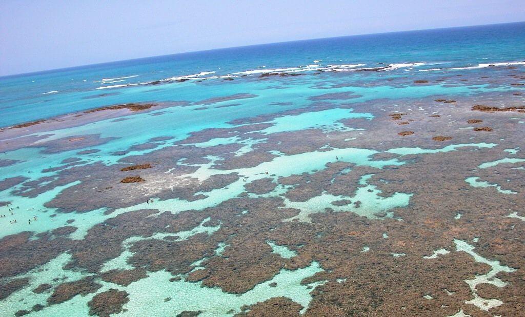Arrecifes da Praia dos Carneiros
