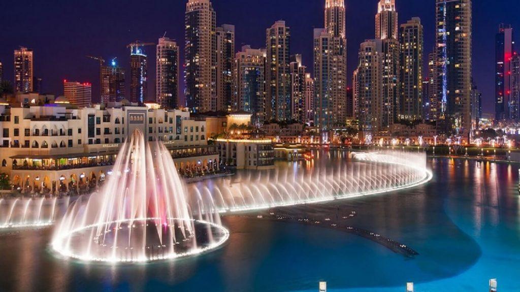 Show das Fontes em Dubai