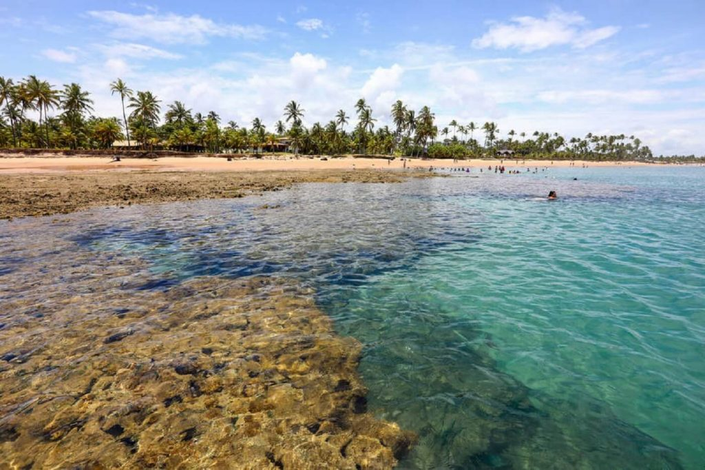 Praia do Taipu - Península do Maraú