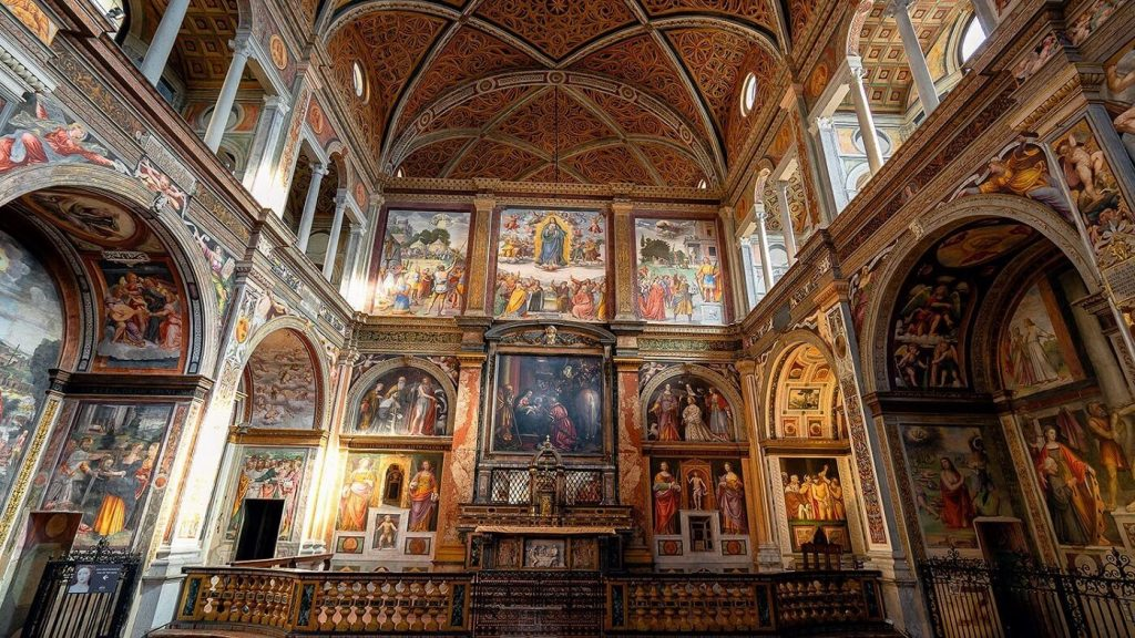 Capela Sistina interior