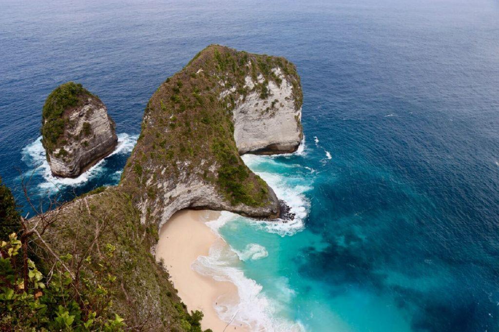 Vista aerea de Bali