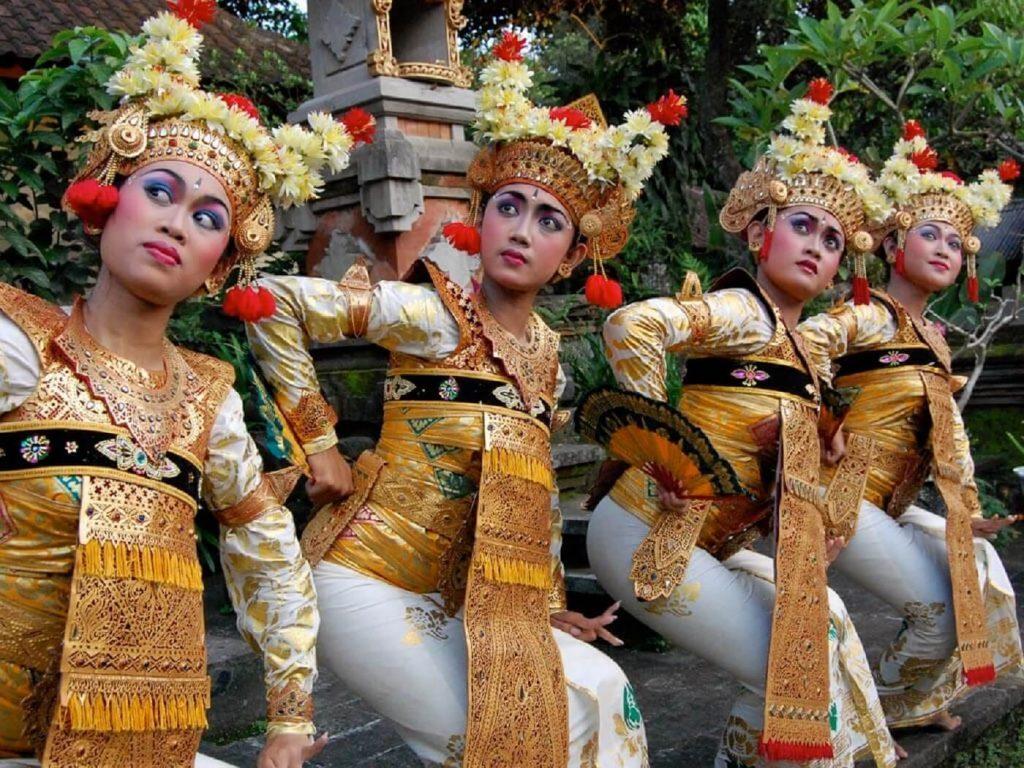 Dançarinas Balinesas