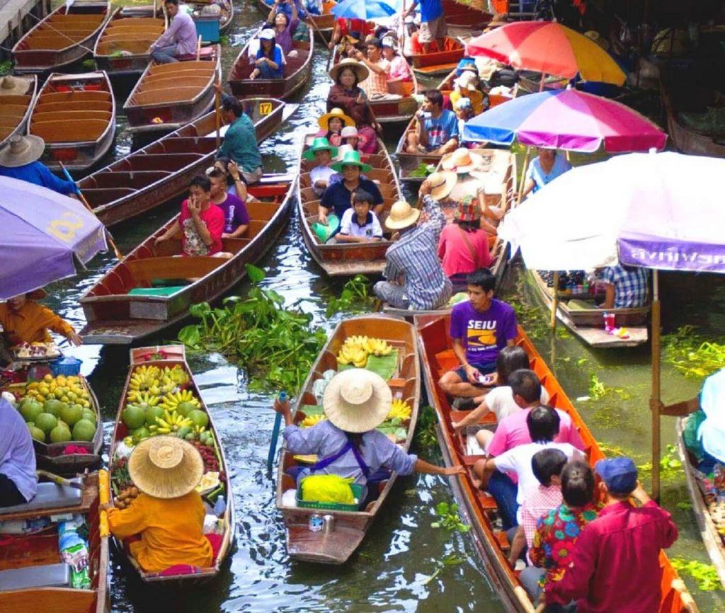 Mercado Flutuante Damoen Saduak