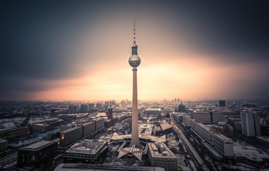 Torre de TV - Berliner Fernsehturm