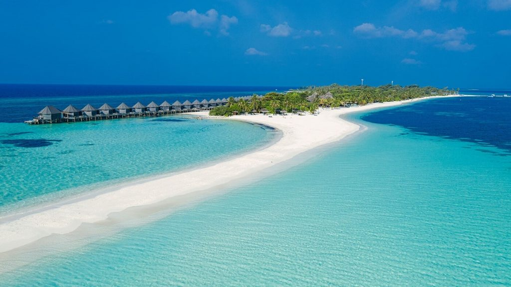Ilhas Maldivas - vista geral