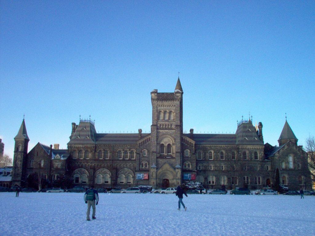 Universidade de Toronto, Ontário, Canadá