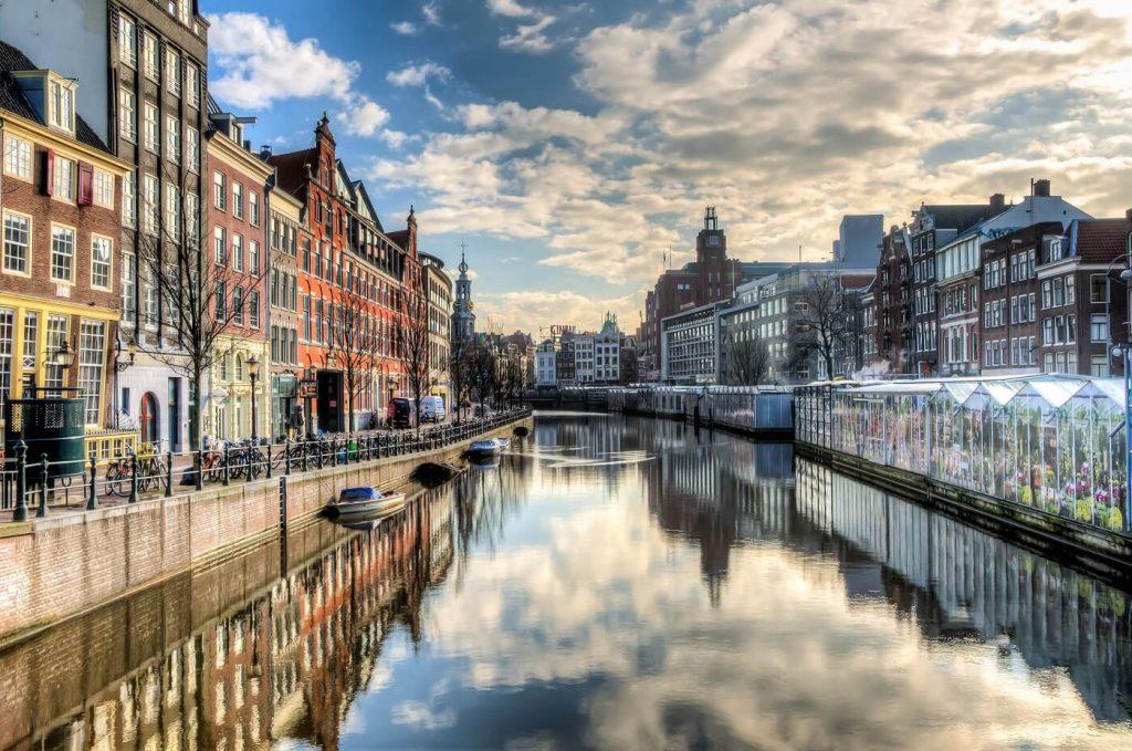 Ponte em Amsterdam