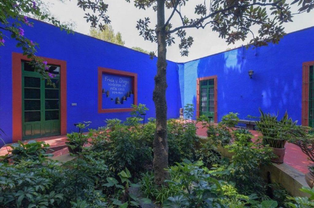Casa Azul- residência de Frida Khalo