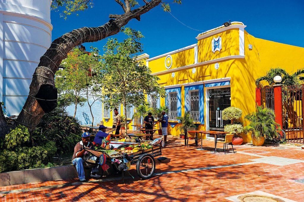 Centro Histórico em Santa Marta