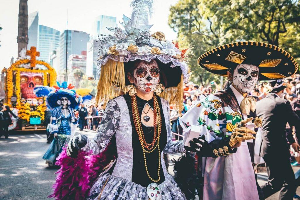 Dia de los Muertos - 2 de novembro - festa nacional