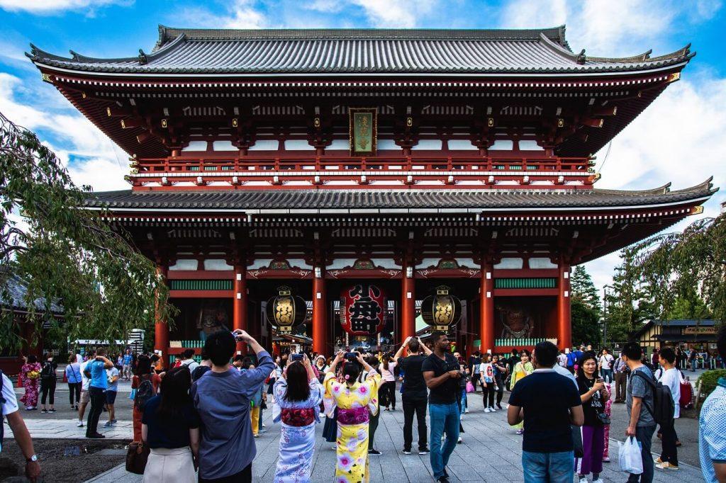 Senso-Ji - Templo em Tóquio