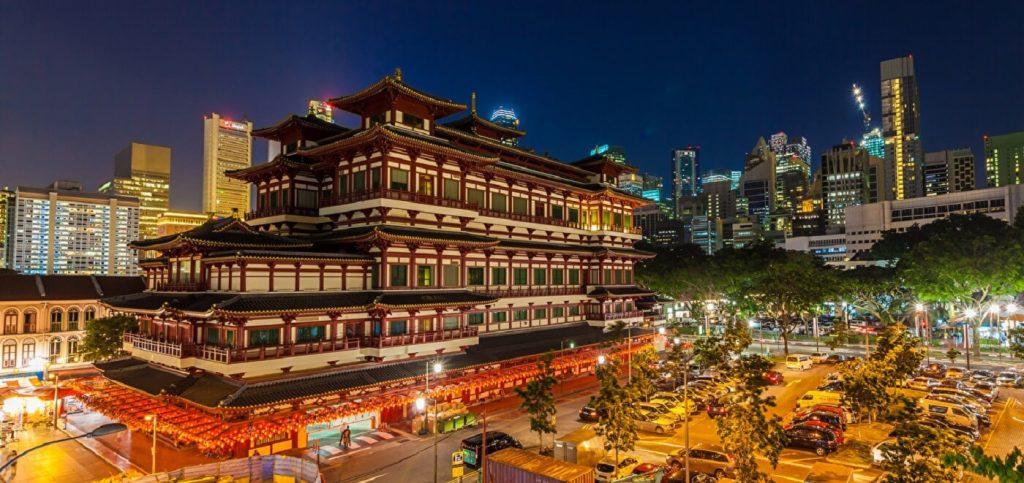 Singapura ChinaTown - Templo Buddha Teeth
