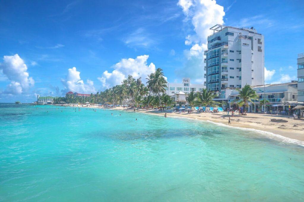 Spratt Bight - praia em San Andrés