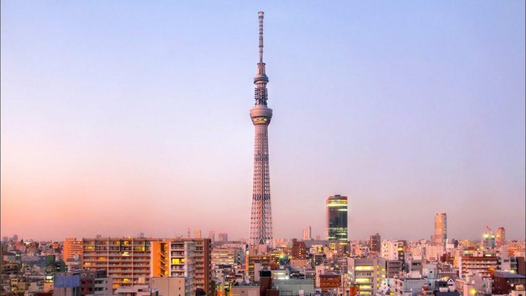 Tokyo Skytree, Japão