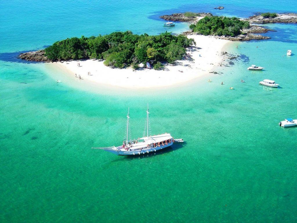 Vista aerea Ilha Grande