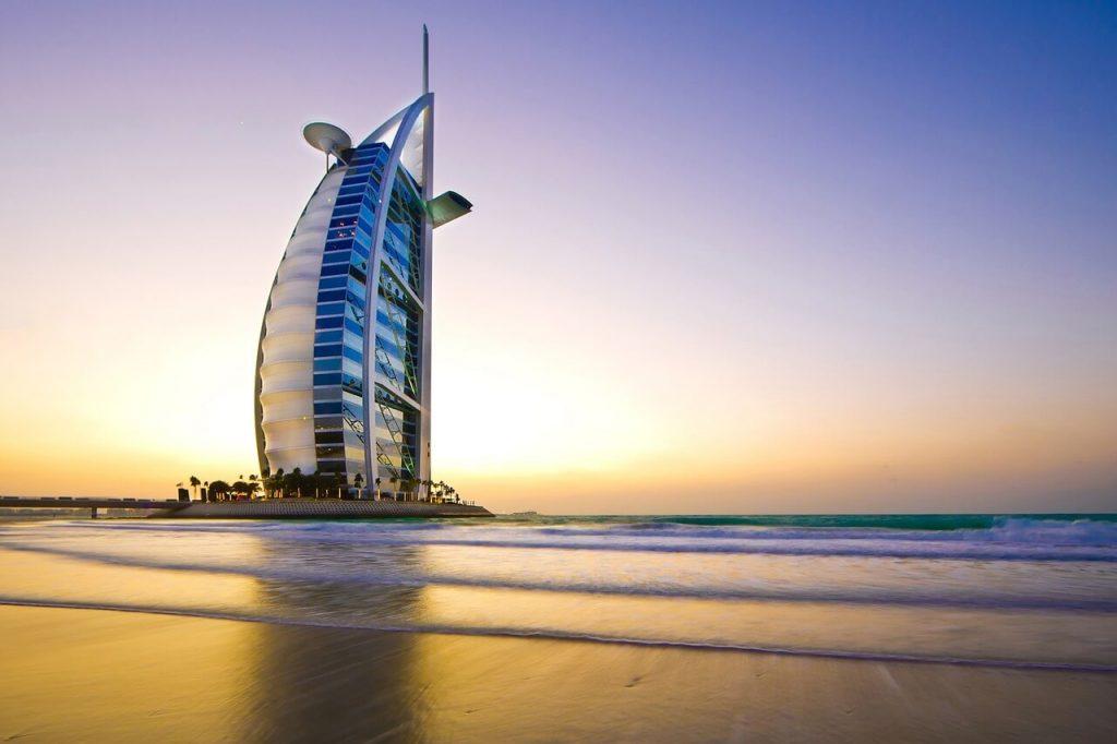 Burj al Arab - Hotel de luxo em Dubai