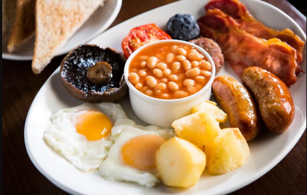 Café da manhã irlanda