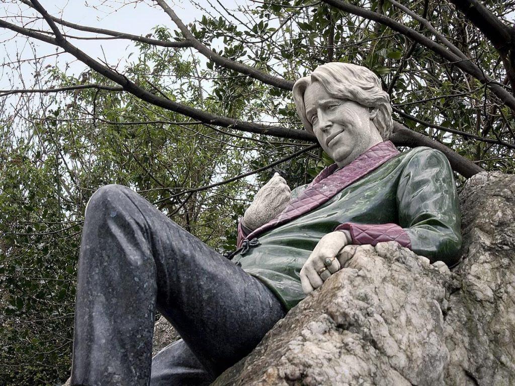 Oscar Wilde em Merrion Square