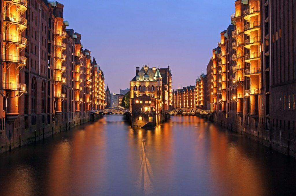 Paisagem Rio Alster Hamburgo